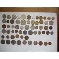 Лот иностранных монет без УК. Распродажа!