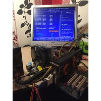 Компьютер без корпуса и монитора.Intel Core 2 Duo E8400, GeForce GTX 465, ОЗУ 4Гб