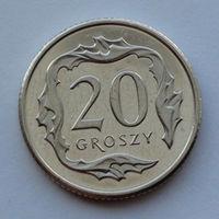 Польша 20 грошей. 2016