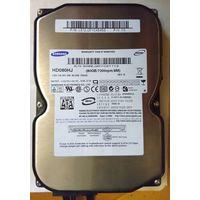 HDD SATA-2 Samsung HD080HJ 80 Гб 80 Gb (7200/8M)
