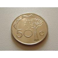 Намибия. 50 центов 2010 год  KM#3