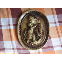 Панно Богородица с младенцем