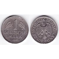 ФРГ 1 марка 1982 F