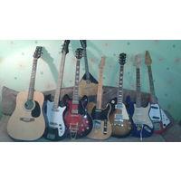 Ремонт и реставрация гитар,электрогитар,ламповых усилителей