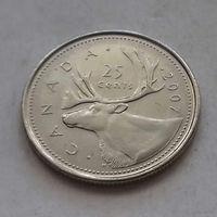 25 центов, Канада 2007 г., AU