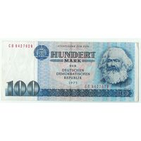 Германия, 100 марок 1975 год