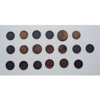 Лот монет РИ (19 штук).6.