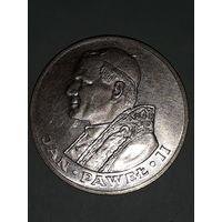 Монета. Польша. 1000 злотых 1983 год. Папа Иоанн Павел II.