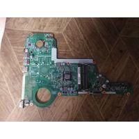 Материнская плата ноутбука HP 15-e011SR залитая