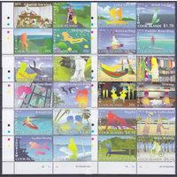 2014 Острова Кука 1966-1989VB Туризм 85,00евро
