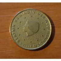 10 евроцентов 2001 Нидерланды