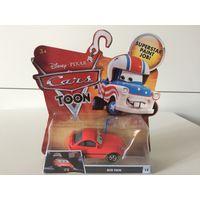 Машинка Тачки Большой Фанат Disney Pixar Cars Big Fan Cars Toon Superstar Paint Job