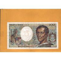 Франция  200 франков  1981г.  унс