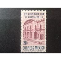 Мексика 1964 здание Асамблеи 1914 г.