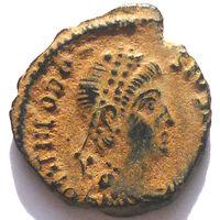 РИМ. ФЕОДОСИЙ I ВЕЛИКИЙ (379-395 г.) АНТИОХИЯ. AE4.