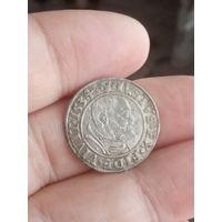 Альберт Гогенцоллерн 1534 год. Роскошная монета в качестве!