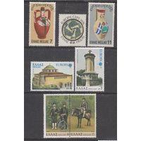 Европа\862\ Греция 1976 Мi1232-4 керамика 1978 г. Mi1314-15 1979. Европа, почта. Mi1352-53. MNH