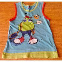 Майки, футболка на 4-6 лет