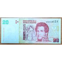 20 песо 2003-2015 - Аргентина - UNC