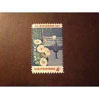 США 1962 г.Гигантский кактус  Сагуаро.50-летие  Аризоне.