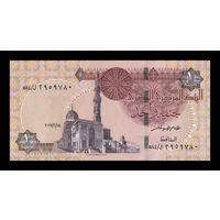 Египет 1 фунт образца 2017 года UNC