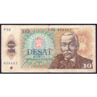Чехословакия 10 крон 1986 VG