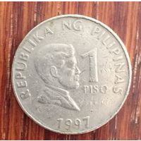 Филиппины, 1 песо 1997