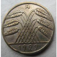 Германия. 10 рейхспфеннигов 1929 A .91
