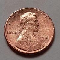 1 цент США 1988 D