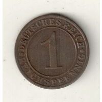 Германия 1 рейхспфенниг 1934 А