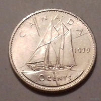 10 центов, Канада 1979 г.