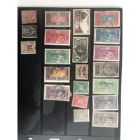 Лот марок Дахомея Французской колонии. Чистые дорогие марки.  Все на фото!  С 1 руб!