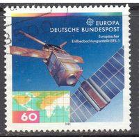 Германия Европа Спутник космос