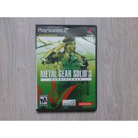 Metal Gear Solid 3 Subsistence (PlayStation 2)