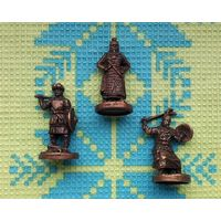 Хан и ордынцы (3-и фигурки). Монголо-татары.