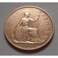 1 пенни, Великобритания 1939 г., Георг VI