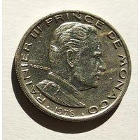 Монако 1 франк, 1978 5-5-30