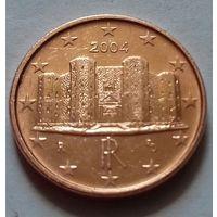 1 евроцент, Италия 2004 г.