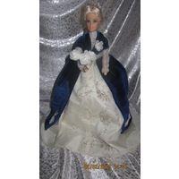 Кукла интерьерная в виде шкатулки,новая,ручная работа