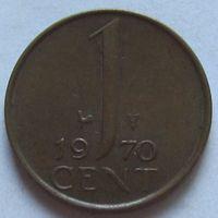 Нидерланды, 1 цент 1970 г