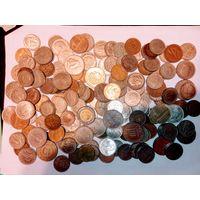 1 кг. Крупных монет всего мира не с рубля. 3 лот.