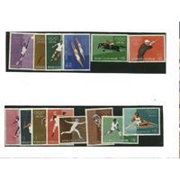 Спорт Сан Марино олимпиада Рим 1960 комплект серия полн **
