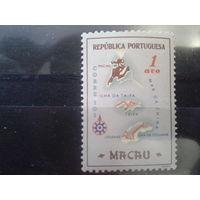 Китай 1956 Макао, колония Португалии карта колонии