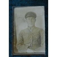 Фото начальника кавалерийской полковой школы.20-е годы.