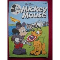 Комикс Микки Маус 1993 г. 3 выпуск. На белорусском языке.