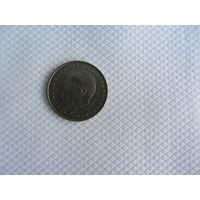 2 марки 1971 J Германия КМ# 116 Медно-никелевый сплав