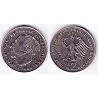 ФРГ 2 марки 1986 D