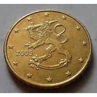 50 евроцентов, Финляндия 2005 г.