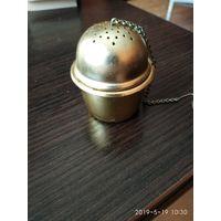 Новый заварник для чая из металла с покрытием СССР.
