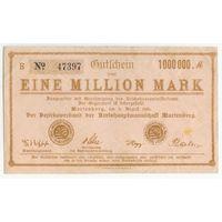 Германия, 1 миллион марок 1923 год.